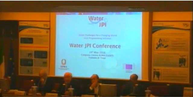 Water JPI conference roma 19-05-2016