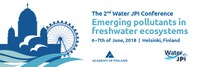 Water JPI International Conference on Emerging pollutants in freshwater ecosystems in Helsinki on 6-7 June 2018