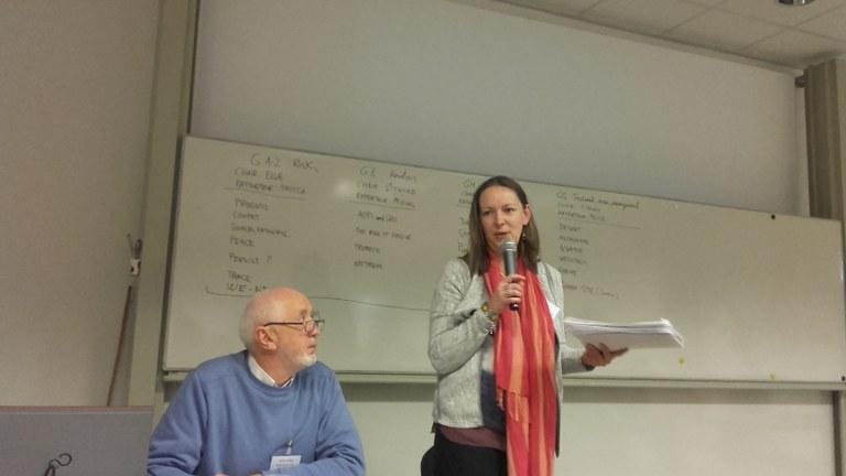 Vienna Rapporteur Alice Wemaere