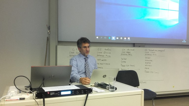 Rapporteur Miguel Angel Gilarranz