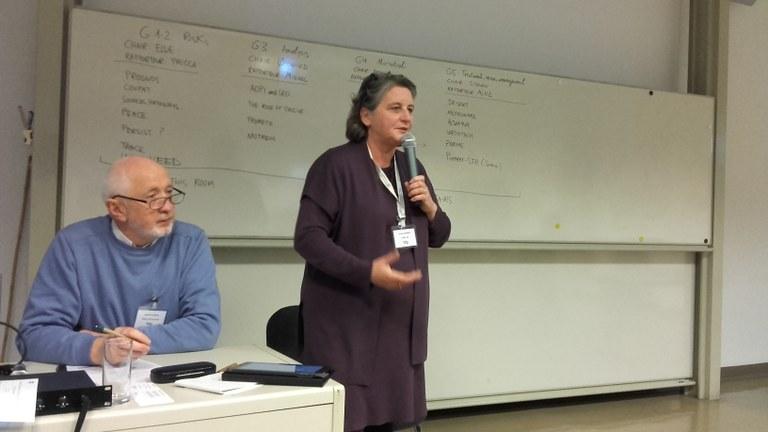 Rapporteur Prisca Haemers