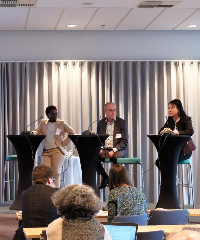 Panel discussion Kalebaila etc