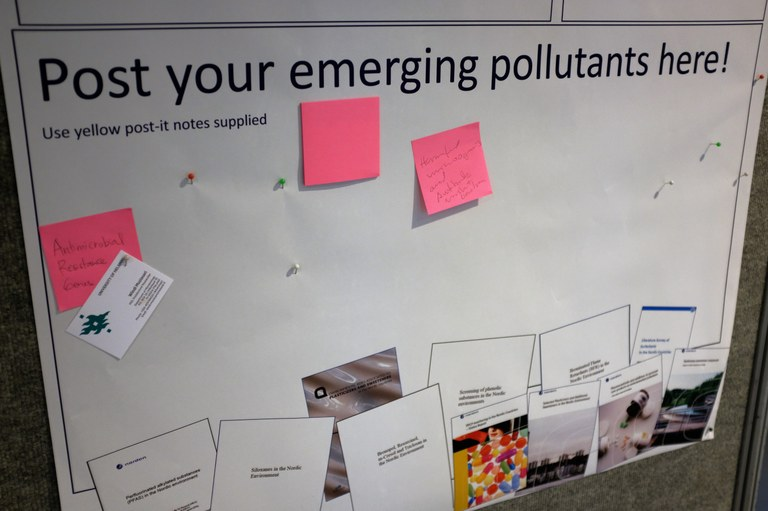 Post emerging pollutants