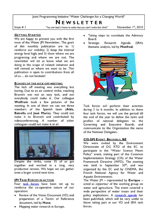 WaterJPI_Newsletter_2010_11.jpg