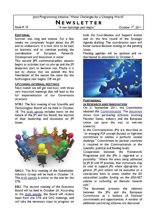 WaterJPI_Newsletter_2011_10.jpg