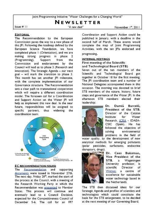 WaterJPI_Newsletter_2011_11.jpg