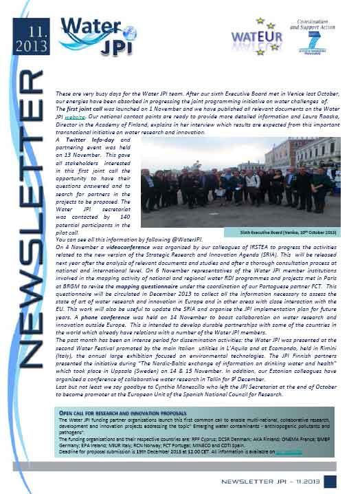 WaterJPI_Newsletter_2013_11.jpg