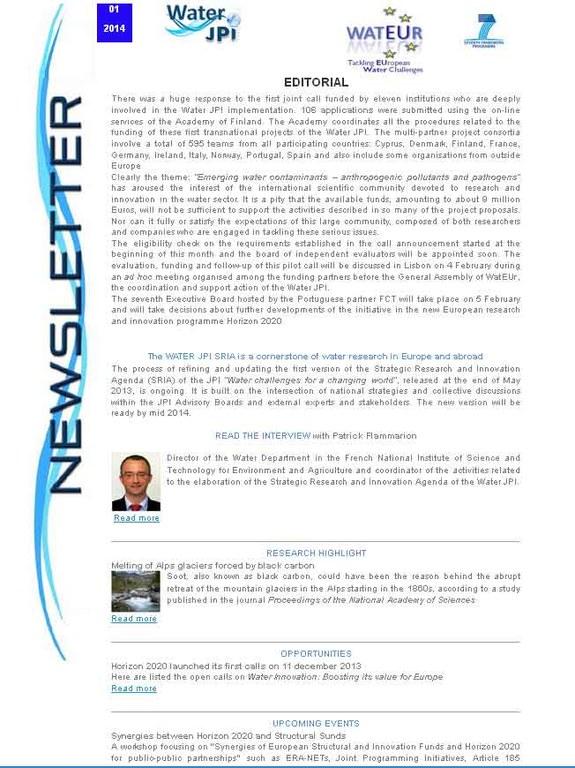 WaterJPI_Newsletter_2014_01.jpg