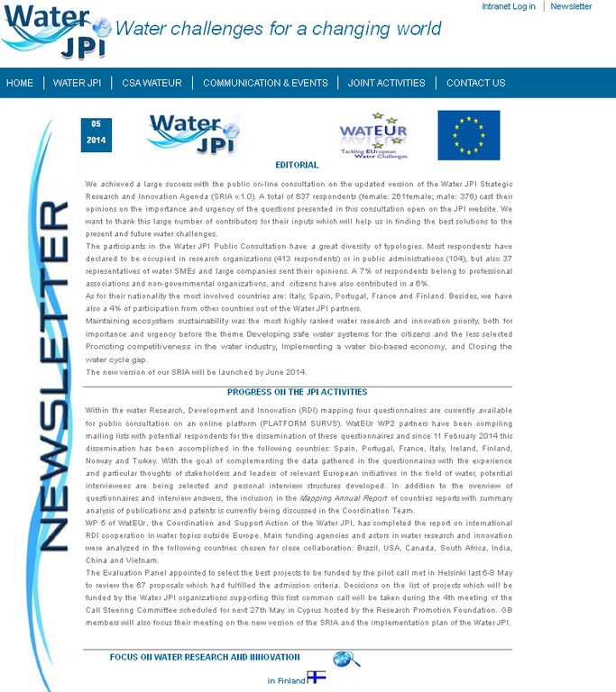 WaterJPI_Newsletter_2014_05.jpg
