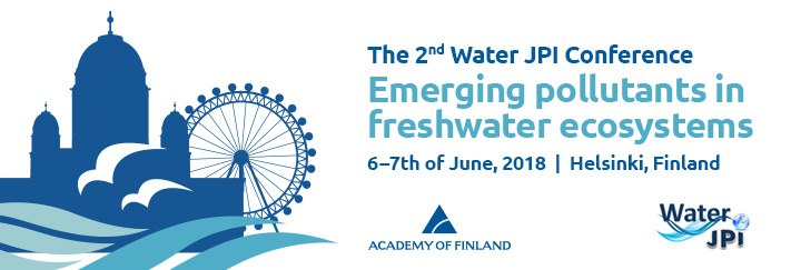 Water JPI 2018 Conference – Helsinki, Finland - 6-7 June 2018