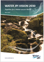Water JPI Vision 2030 document