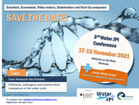 The 3rd Water JPI conference