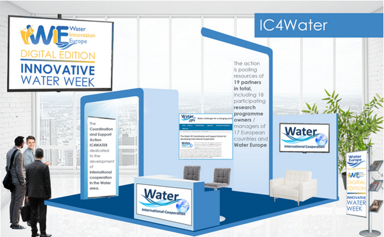 IC4Water at the International Water Dialogue Virtual Event
