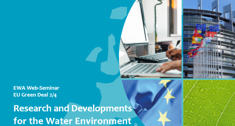 EWA Web-Seminar EU Green Deal: Research and Developments for the Water Environment