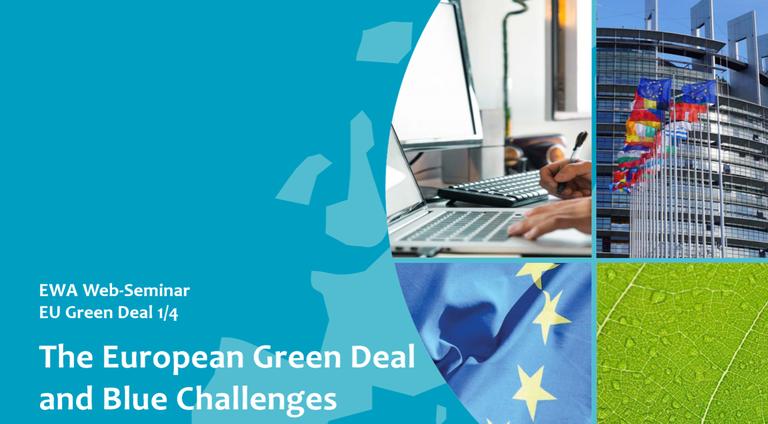 EWA Web-Seminar EU Green Deal: The European Green Deal and Blue Challenges