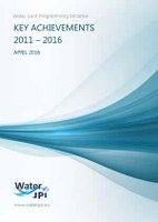 Water JPI key achievements 2011-2016